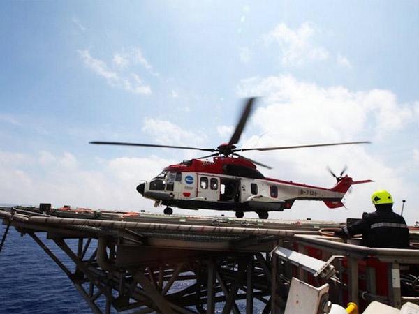直升机平台建造