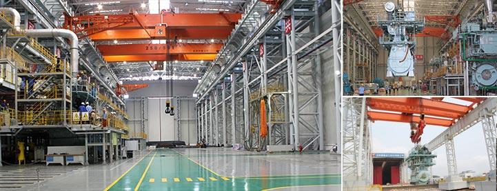 工厂车间动力照明电路图