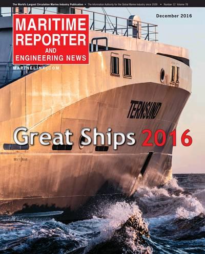 世界船舶权威杂志评选2016年世界名船Top10 装配欧宝体育竞猜制造发动机的船舶位居榜首