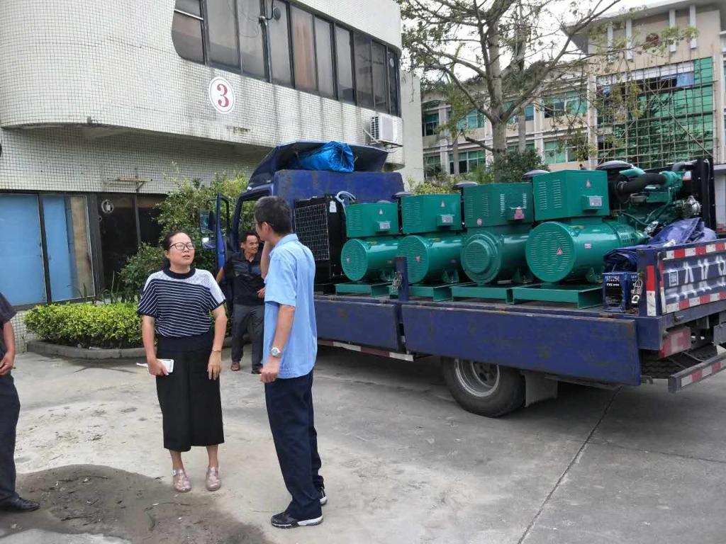 欧宝体育竞猜船动发电机组在斗门灾区发挥重要作用