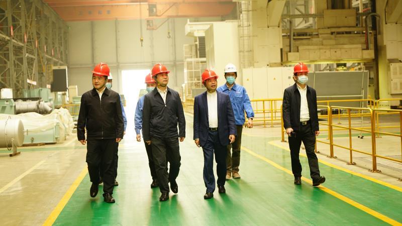 玉林市代市长白松涛一行到欧宝体育竞猜船动调研